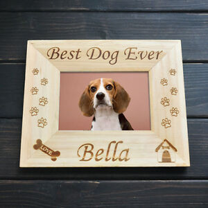 Personalized Pet Picture Gift For Pet Lover Frame Dog Picture Frame Gift For Her