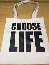 CHOOSE LIFE - COTTON TOTE BAG