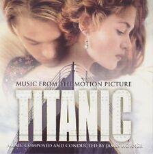 Soundtrack-Titanic (James Horner/Celine Dion) CD