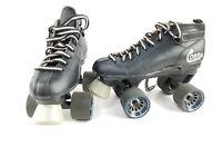 Cobra Roller Derby Speed Skates Black Power Formula Wheels Size 6