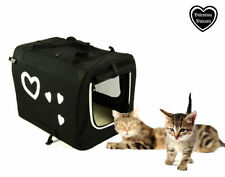 Équipements de transport noir pour petits chiens pour chien