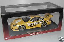 """Autoart 1:18 80675 Porsche 911 (996) gt3r """"Autoart Edition"""" embalaje original (eh3131)"""