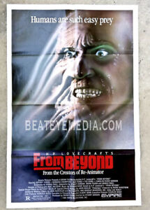 FROM BEYOND-Giger,Movie POSTER,Halloween,monster,monsters,SciFi,HORROR,LOVECRAFT