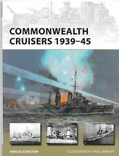 Osprey Vanguard 226, Commonwealth Cruisers 1939-45, Softcover Reference ST