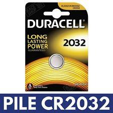 Pile CR2032 ◯ Ronde DURACELL Lithium Boitier Plip Coque Clé Télécommande RENAULT