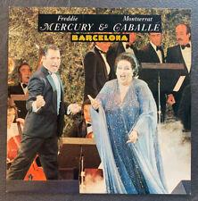 "Freddie Mercury & Montserrat Caballe Barcelona RARE 12"" Vinyl EP Polydor EX"