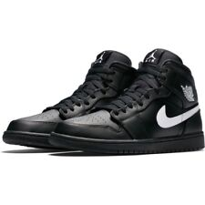 Nike Air Jordan 1 Mid Black Trainers UK 12 **BNIB & UNUSED**