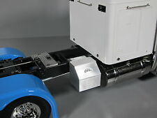 Aluminum Simulate Side Storage Tool Box Tamiya Toy 1/14 King Grand Knight Hauler