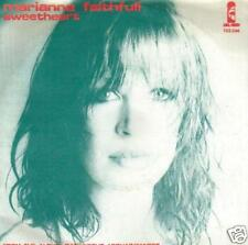 JUKEBOX SINGLE 45 MARIANNE FAITHFULL SWEETHEART 7 ""