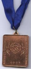 Orig.Bronze medal    GDR Students Championships 1981 - ATHLETICS  !!  VERY RARE