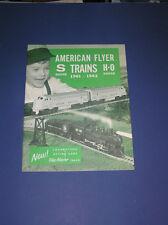 1961 GILBERT AMERICAN FLYER TRAINS CATALOG-D2267