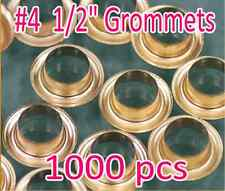 """1000 #4 1/2"""" Grommet and Washer Eyelet Grommets Machine Sign Punch Tool Banner"""