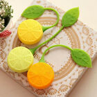 Silicone Drinker Teapot Teacup Herb Tea Leaf Lemon Strainer Filter Bag Infuser