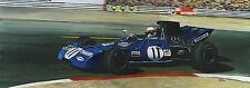 Jackie Stewarts Tyrrell 1971 French Grand Prix - Ltd Ed Print