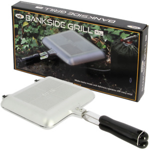 NGT XL Toastie Maker Carp Fishing Camping Sandwich Toaster Cooker Bankside Grill