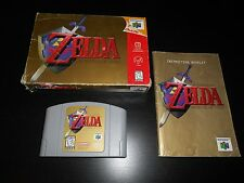 The Legend Of Zelda 64 Complete Nintendo 64 Ocarina Of Time N64 Game CIB