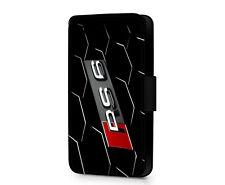 Sport Audi RS6 Parrilla rendimiento Imitación Cuero teléfono de línea S Funda Cartera