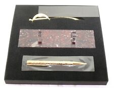 Dupont 265101PC Pirates of the Caribbean Gold Ballpoint Pen with Letter Opener
