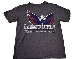 Majestic Youth Boys NHL Washington Capitals Hockey Shirt NWT M