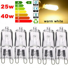Halogen G9 Capsule Light Bulbs 25W 40W Energy Saving Lamps Warm White