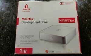 Iomega MiniMax desktop hard drive 1TB