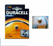 DURACELL 1/3N BATTERIA AL LITIO 3V PILA BOTTONE PHOTO 2022 DLI 3N 2L76 CRI 3N
