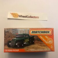 '35 Ford Pickup * 2019 Matchbox POWER GRABS Case C * G114