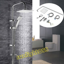 Duschset Regendusche Set Brause Handbrause Duschsystem Duscharmatur 200x200 DHL
