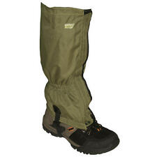 GREEN WALKING GAITERS Hiking gaitors for climbing trekking