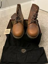 Wolverine 1000 Mile(Duvall) Brown Leather Boots Size 10.5 D