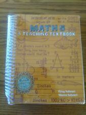 Teaching Textbooks Math Five Book and Answer Pamphlet Brand New