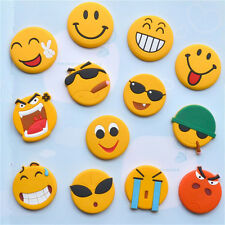 Emoji Cartoon Expression Fridge Magnet Decor Whiteboard Note Message Holder 0v 1pc