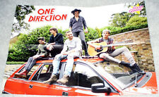 ONE DIRECTION ID / SELENA GOMEZ GERMAN FOLD OUT POSTER 2015 IN MINT CONDITION