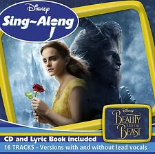 DISNEY SING-ALONG: BEAUTY AND THE BEAST CD - NEW RELEASE APRIL 2017