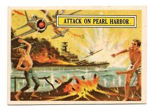 1965 Topps Battle #2 Attack on Pearl Harbor December 7 1941