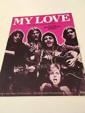 MY LOVE - RECORDED BY MCCARTNEY'S WINGS - ORIGINAL SHEET MUSIC