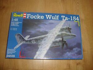 L215 Revell Model Kit 04535 - Focke Wulf Ta - 154 - 1/48