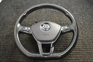 VW GOLF MK7 LEATHER MULTIFUNCTION STEERING WHEEL 5G0419091 5G0880201C