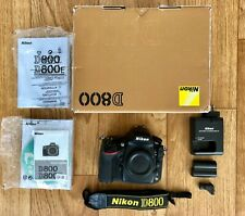 Nikon USA D800 Digital Camera Body - Fixable Shutter Issue
