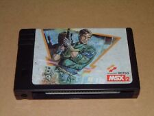 MSX 2 Metal Gear KONAMI Cartridge Video Game Soft Japan Good Condition
