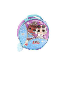 L.O.L. Surprise! Purple & Blue Glitter Lunchbox Miss Baby Lunch Boxes Qty 3