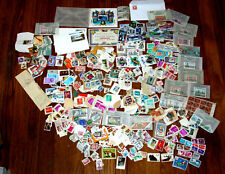 Thousands of Postage Stamps from Many Countries 1800s to 2013 & Accessories