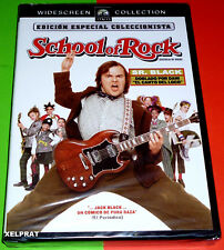 SCHOOL OF ROCK / Escuela de rock - English Español -DVD R2- Precintada