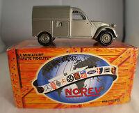 Solido Norev  Réedition Hachette 2CV AZU 1954 en boite 1/43 état neuf