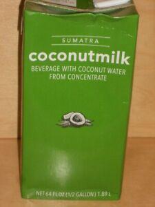 Starbucks Sumatra Coconut Milk 64 Oz. Expires 2/6/2021