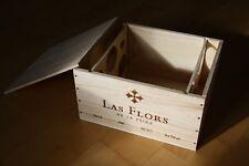3 Original Holzkisten OHK Wein für je 6 Flaschen (leer)