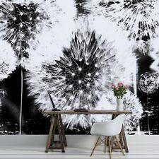 pusteblume fototapeten günstig kaufen | ebay - Fototapete Wohnzimmer Schwarz Weiss