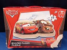 11762. Disney Puzzle, Cars, 15 Teile, Jumbo, Bodenpuzzle