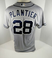 2013 San Diego Padres Phil Plantier #28 Game Used Grey Jersey