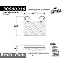 StopTech 309.00310 Rear Disc Brake Pad-Sport Brake Pad